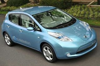 Nissan electric vehicle 2010
