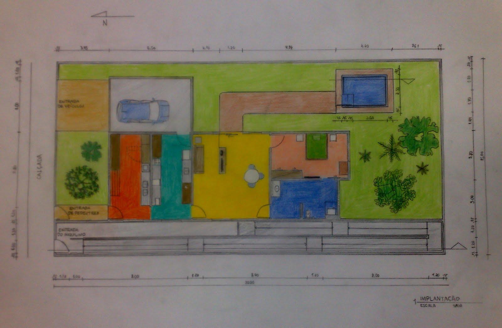 de Fortaleza: Projeto de residência adaptada ao deficiente físico #1A6260 1600 1044
