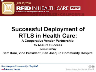 Successful Deployment of RTLS in Healthcare
