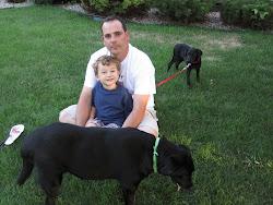 Daddy, Sean, Dani & Andy