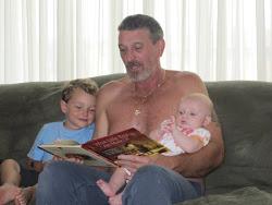 Sean, Puppa & Evie
