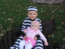 Sean & Evie getting ready for zooboo