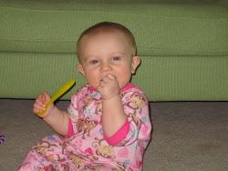 Evie's PJ photoshoot