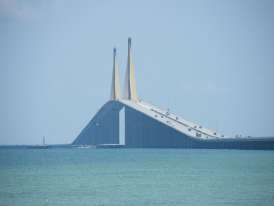 Here is the Sunshine Skyway