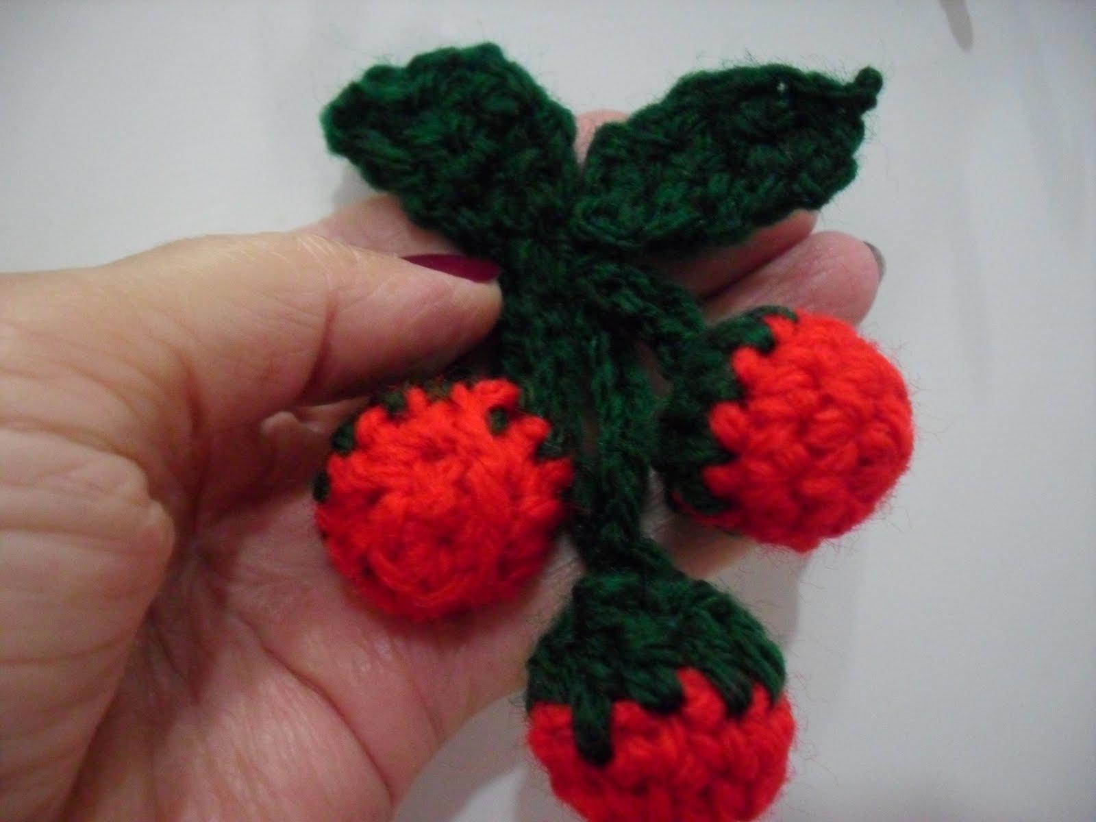 Minhas artes: Cesta de frutas em croche #B8131B 1600x1200