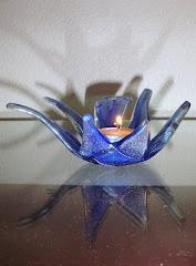 Castiçal - fusing glass