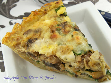 ... potato caramelized onion and gorgonzola quiche shredded potato quiche