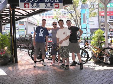 Izu 2009 Cycling Tour