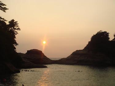 Sunset in Izu