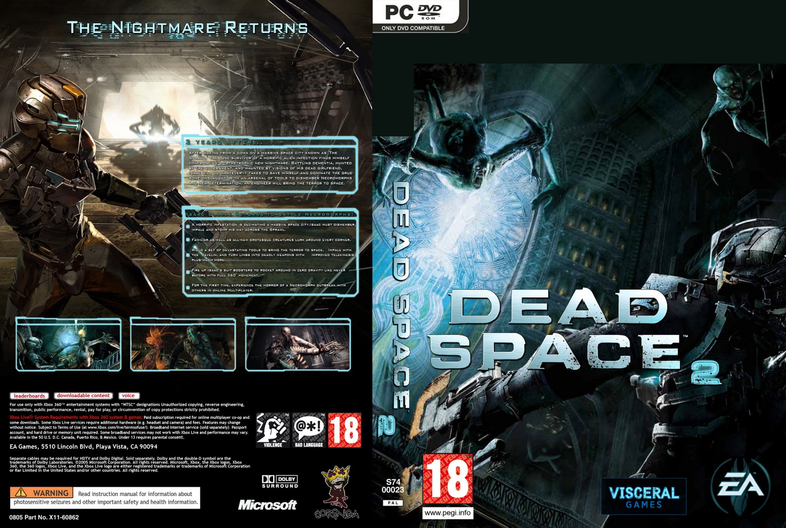 dead space 2 pc review scores all pc game rh allpcgame net dead space 3 manual crank dead space chapter 3 manually ignite the engine