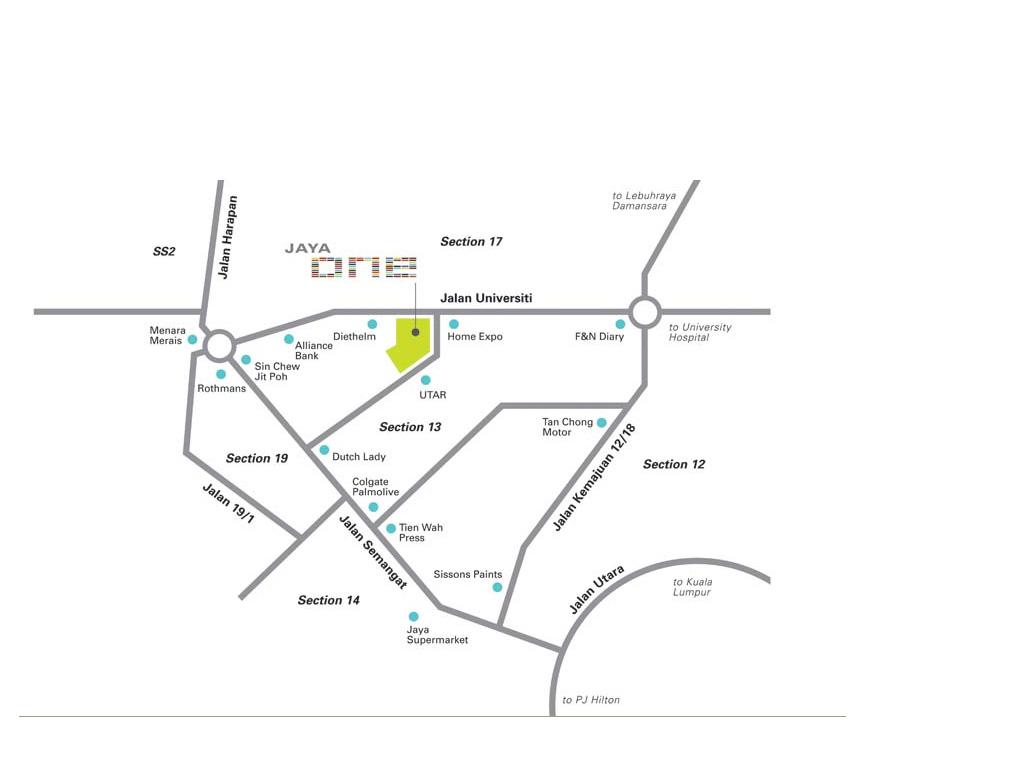 Peta Lokasi Pejabat VeMMA