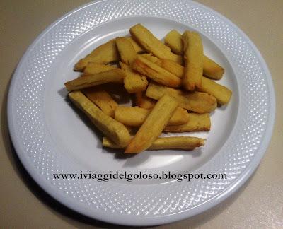 finger food ... panissa fritta genovese