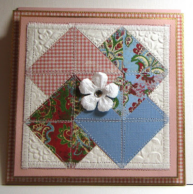 Cut to Pieces: Joseph's coat charming mini quilt - or - Starfish