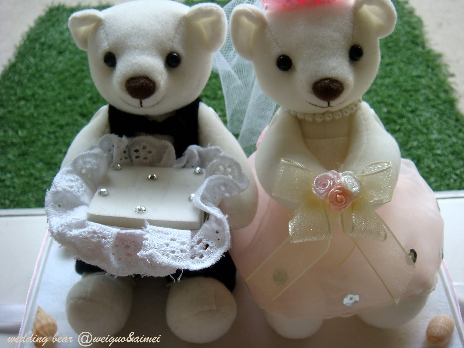 My Baking Cottage Wedding Diy Personalised Wedding Bear