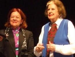 Isabel Marquiis y Lydia Fagundes, una gran escritora brasileña