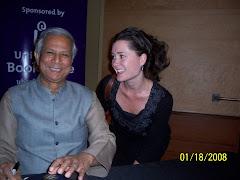 Nobel Peace Winner, Dr. Muhammad Yunus
