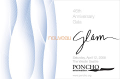 PONCHO Red Carpet Gala Invitation