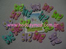 Imanes de Mariposas... muchos colores!!