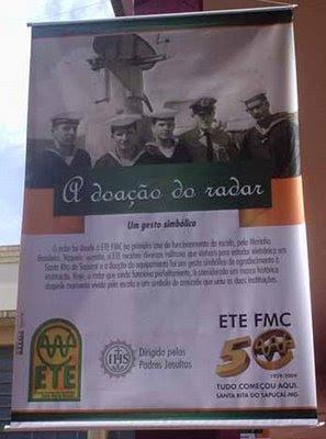 Banner com a história do radar