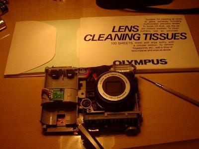 Kodak Easy Share C713 por dentro
