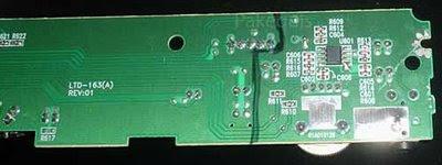 Placa do Amplificador lado SMD