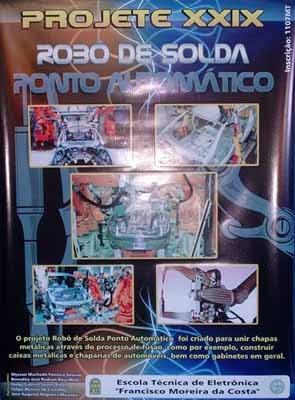 Banner Robo de Solda de Ponto