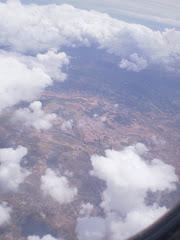 nubes desde  el cielo