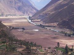 a   andar  el  valle   sagrado del  Urubamba