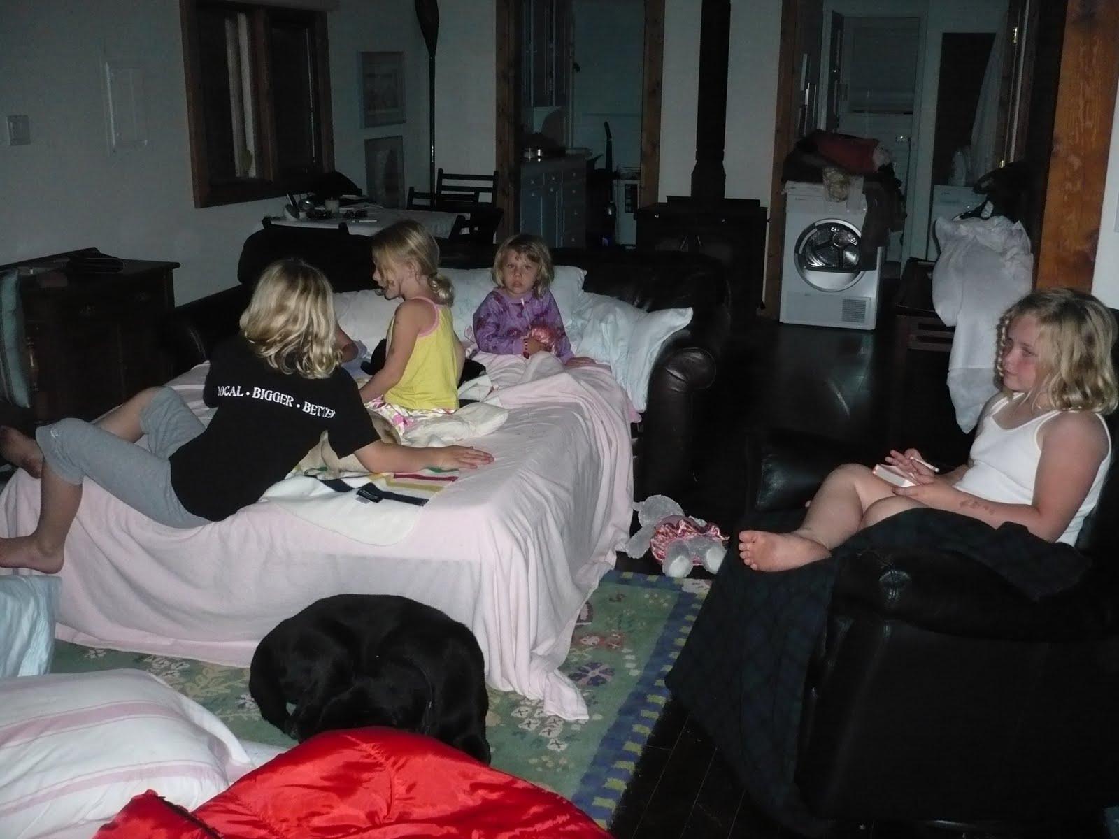 Sleep Over Parenting Fail