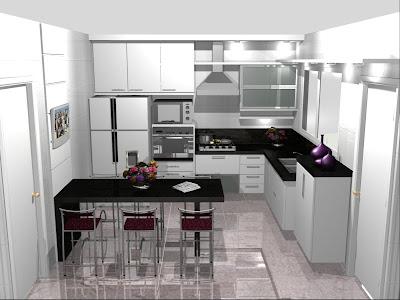 cozinhas pequenas decoradas