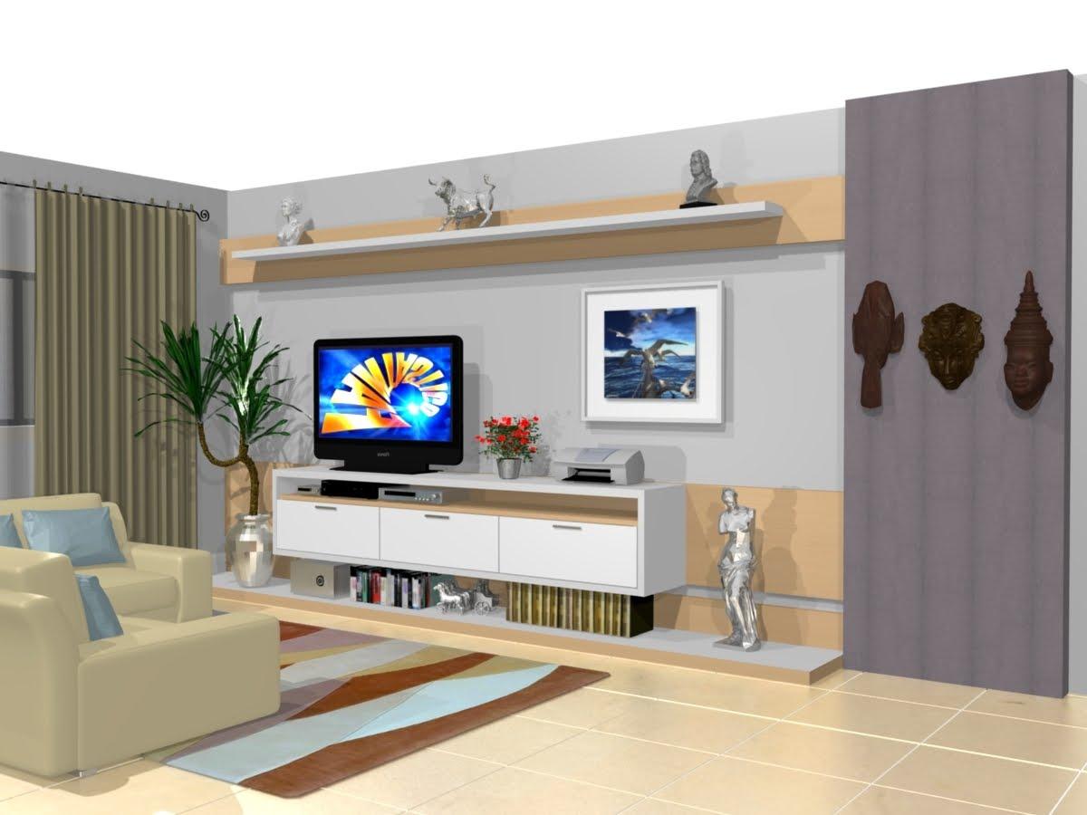 Suporte De Tv Para Quarto Presa A Um Suporte Giratrio Feito Sob  ~ Home Tv Quarto Casal Com Painel Quarto Infantil