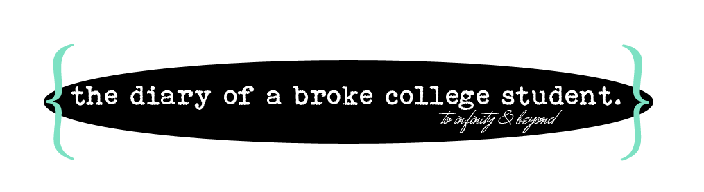 About the Broke College Student.