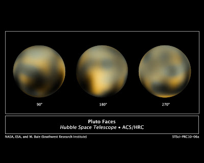 NASA-International Space Station: New Hubble Maps of Pluto Show