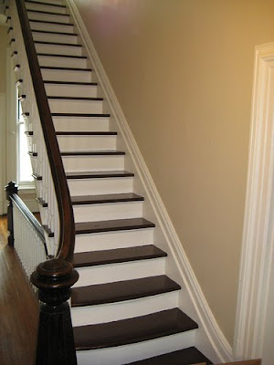 Prettyorganizedpalace painted stairs - Ideas for painting stairs ...