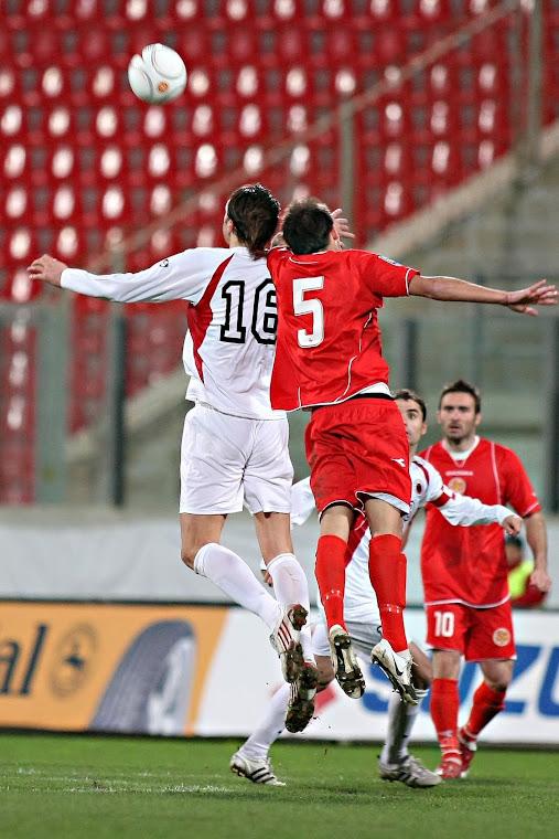 Malta Vrs Albania Andrei Agius No 5