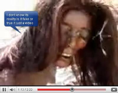 Video Putri Duyung Yang Terdampar Di Pakistan..