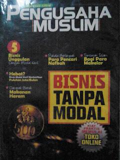 Majalah Pengusaha Muslim Edisi Perdana Desember 2009