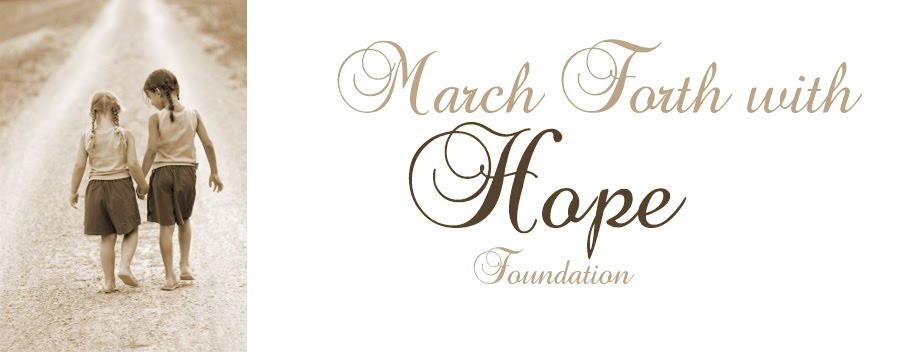 March Forth with Hope