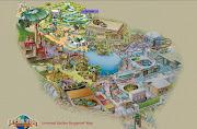 Universal Studios Singapore (universal studios spore map)