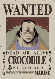 bounty crocodile schichibukai one piece