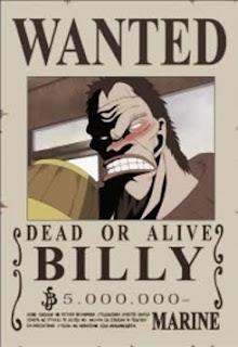 bounty billy one piece