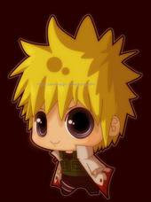 cute funny yondaime naruto picture