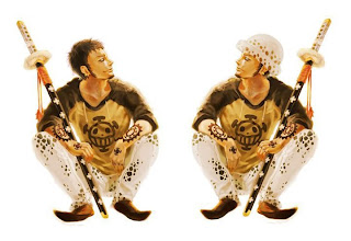 funny trafalgar law anime one piece