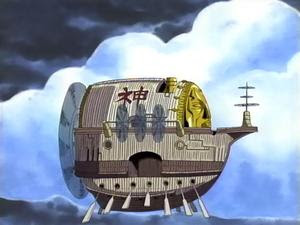 pirates ship one piece anime god enel