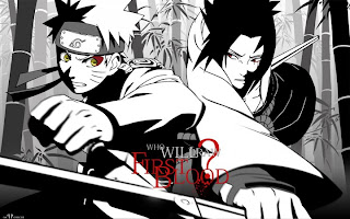 naruto vs sasuke anime wallpaper shippuden