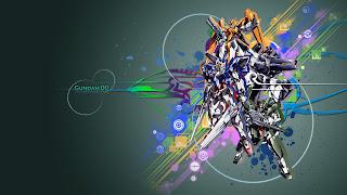 gundam wallpaper 00 mobile suit anime 3d