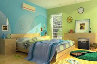 luxury female bedroom modren design decoration