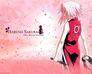 sakura haruno wallpaper naruto shippuden anime 3d