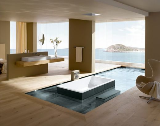 Luxury Bathroom Modern Design Expensive Hotel