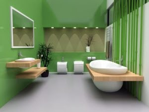 luxury bathroom modern minimlaist design